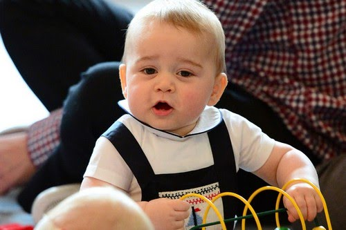 Prince George richest kid in the world