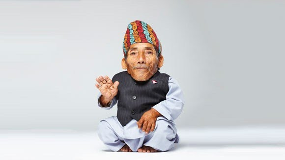 Chandra Dangi shortest Man