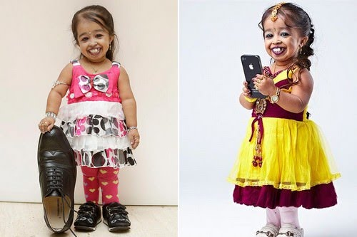 Jyoti Kisange Amge Shortest Woman